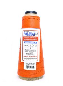 Linha Poliana Baby 500m - Laranja Claro