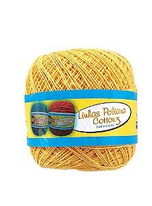 Linha Poliana Cotton 350m - Amarelo Ouro