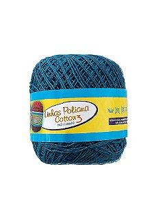 Linha Poliana Cotton 350m - Azul Petróleo