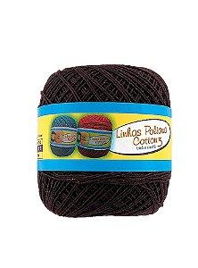 Linha Poliana Cotton 350m - Marrom