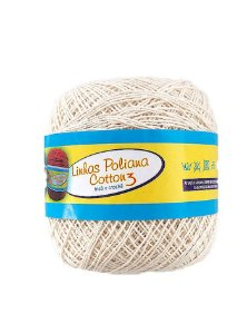 Linha Poliana Cotton 350m - Cru