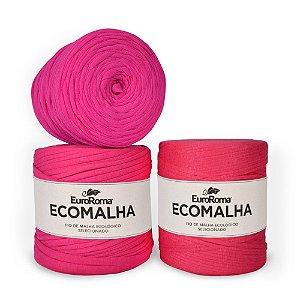 Fio de Malha EcoMalha 80 metros Tons de Pink