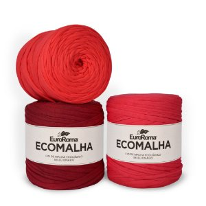 Fio de Malha EcoMalha 80 metros Tons de Vermelho