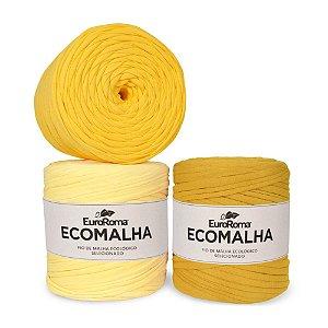 Fio de Malha EcoMalha 80 metros Tons de Amarelo