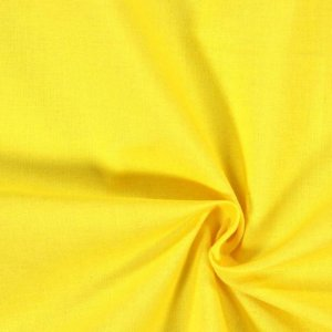 Tecido Oxford Amarelo 1,40x1,00m Para Toalhas, Guardanapos e Cortinas