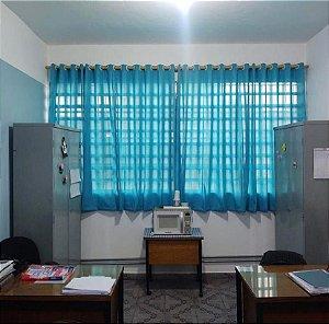 Cortina Azul Escola