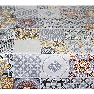 Toalha de mesa Plástica Térmica Lisboa 1,40x1,00 Cozinha Decoração