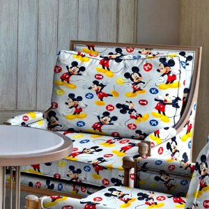 Tecido Mickey 1,40x1,00m Infantil Impermeabilizado
