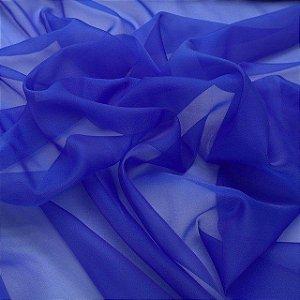 Tecido Voil Liso Azul Royal 3,00x1,00m