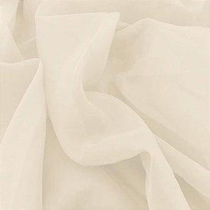 Tecido Voil Liso Marfim 3,00x1,00m