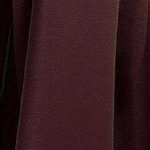 Tecido para Sofá e Estofado Veludo Liso Pavia 17 Vinho- Largura 1,40m