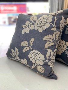 Almofada Estampada Floral Fundo Claro