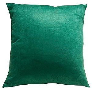 Almofada Suede Lisa Verde