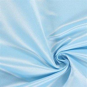 Cetim Liso 3mts Azul bebe