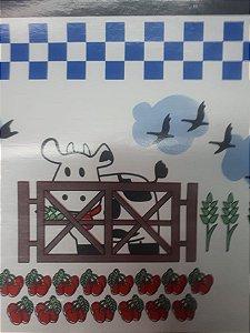 Oleado Térmico vaquinha na cerca