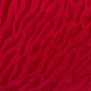 Veludo 3D Pele Vermelho