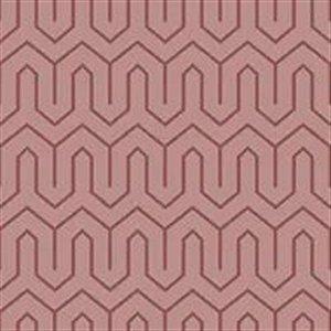 Papel De Parede Vinílico Cubic - Rosa - CU87438