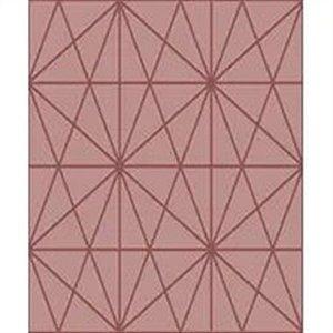 Papel De Parede Vinílico Cubic - Rosa - CU87434