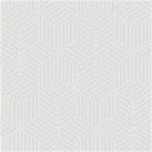 Papel De Parede Vinílico Cubic - Cinza - CU87417