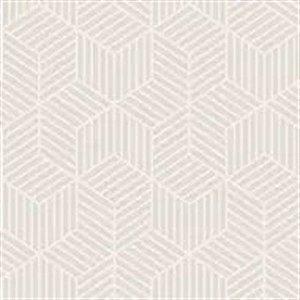 Papel De Parede Vinílico Cubic - Bege - CU87416