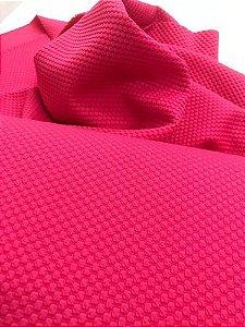 Tecido Piquet Rosa Pink 100% Algodão