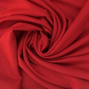 Tricoline Vermelho liso