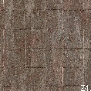 Papel de Parede Cinza Coca-Cola Quadriculado Z41232