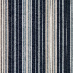 Tecido karsten Marble 39 Jacquard Edik Listardo Azul-Bege - Largura 1,40m - MARB-39
