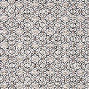 Tecido karsten Marble 42 Jacquard Otto Azul-Bege - Largura 1,40m - MARB-42