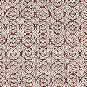 Tecido karsten Marble 01 Jacquard Otto terracota - Largura 1,40m - MARB-01
