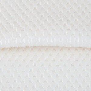 Sintético Courvim Para Estofado Ilheus -01 Branco Largura 1,40m - ILH-01