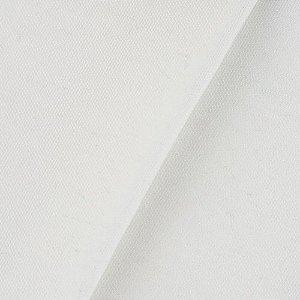 Tecido em Poliéster Riviera-01 Branco Largura 1,40m - RIV-01