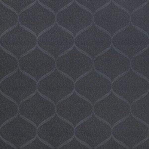 Tecido Para Sofá e Estofado Jacquad Impermeabilizado Panama 142 Geometrico Preto Cinza - Largura 1,40m - PN-142