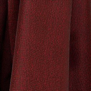 Tecido Para Sofá e Estofado Jacquad Impermeabilizado Panama 128 Liso Vinho - Largura 1,40m - PN-128