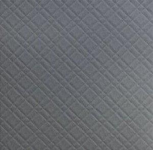 Tecido Para Estofado Veludo Matelassê 04 Chumbo - Largura 1,40m - VMAT-04