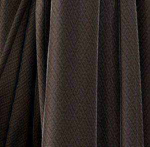 Tecido Para Estofado Veludo Matelassê 03 Marrom - Largura 1,40m - VMAT-03