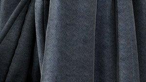Tecido Para Estofado Veludo Troia 05 Azul - Largura 1,40m - TRO-05