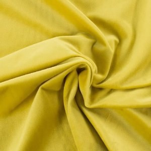 Tecido Para Sofá e Estofado Veludo Inca Amarelo - 04 - INC-04