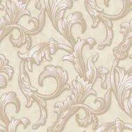 Papel de parede Florence Marfim Arabesco FR87293