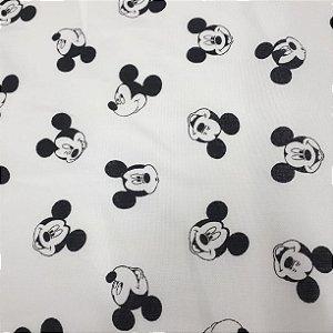 Tricoline Branco Mickey
