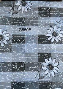 Oleado Térmico Quadriculado de florzinhas