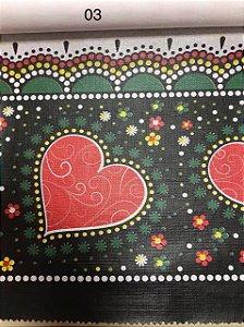 Oleado Térmico Coração Vermelho