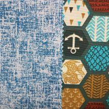 Tecido Impermeabilizado Azul