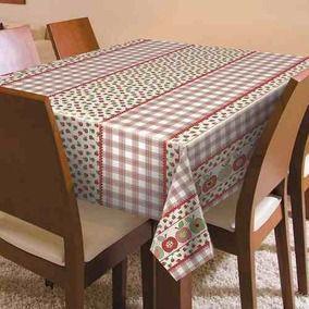Toalha de mesa Plástica Térmica Maçãs 1,40x1,00m