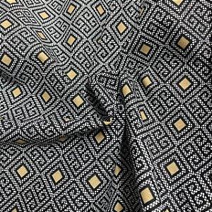Tecido Tricoline Geométrico 1,40x1,00m