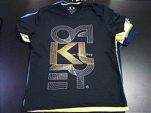 KIT 10 Camisetas Malha Premium 100% Algodão Diversas Marcas - Atacado - R   23 ac6d864671a