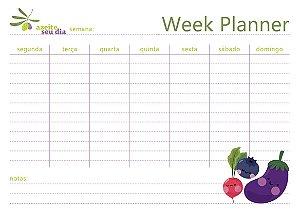 Planner semanal Ingredientes