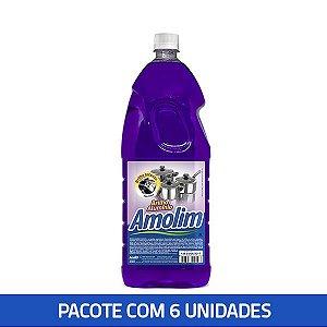 Brilho Alumínio Amolim 2lts Pacote C/6 Unid.