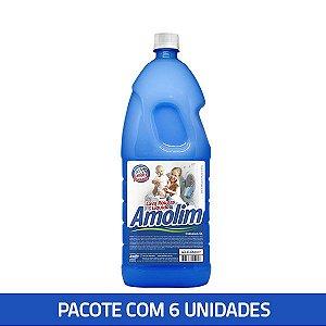 Lava Roupas Líquido Clássico Amolim 2l Pacote C/6 Unid.