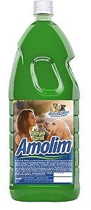 Limpa Canil Amolim 2lts Pacote C/6 Unid.